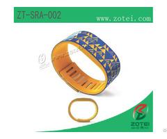 Rfid Silicone Wristband Tag Zt Sra 002