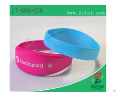 Rfid Silicone Wristband Tag Zt Sra 004