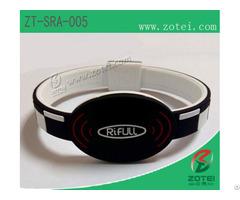 Rfid Silicone Wristband Tag Zt Sra 005