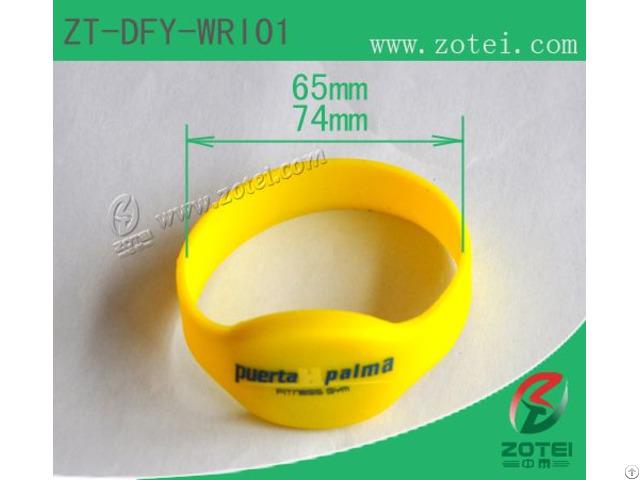 Rfid Silicone Wristband Tag Zt Dfy Wri01