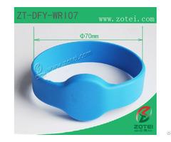 Rfid Silicone Wristband Tag Zt Dfy Wri07