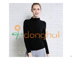 Anti Pilling 100% Cashmere Knitting Sweaters For Women