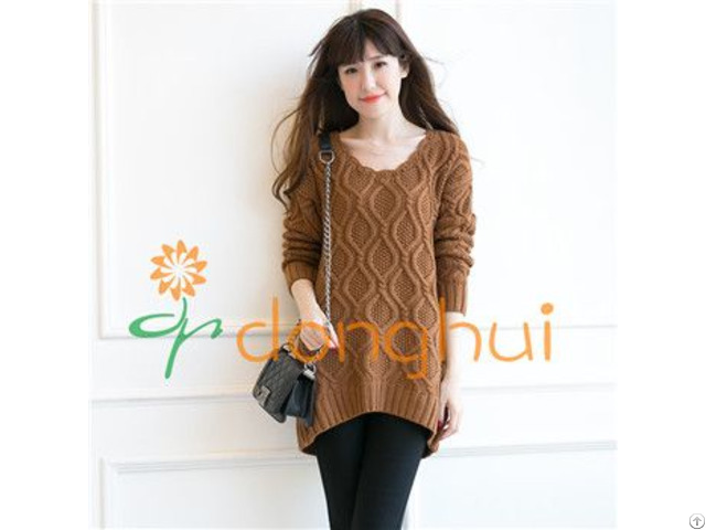 Woolen Knitting Sweater For Women