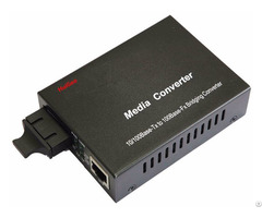 Media Converter 1000m Fiber Optic To Ethernet