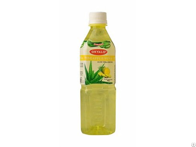 Okyalo Wholesale 500ml Aloe Vera Juice Drink With Pineapple Flavor