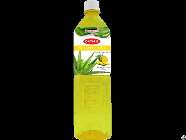 Okyalo Wholesale 1 5l Aloe Vera Juice Drink With Pineapple Flavor