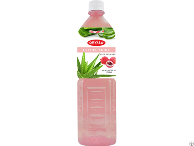 Okyalo Wholesale 1 5l Aloe Vera Juice Drink With Lychee Flavor