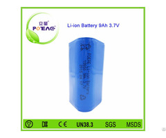 Hot Sale 1s3p 3 7v 18650 9000mah Li Ion Battery Pack