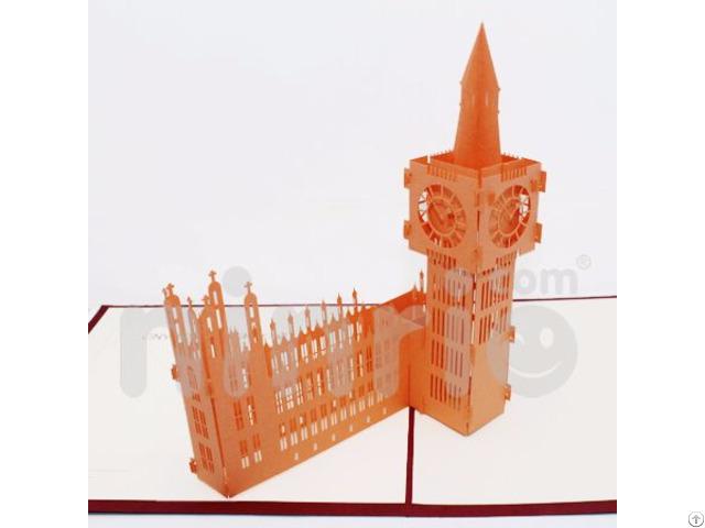 Big Ben 3d Pop Up Card
