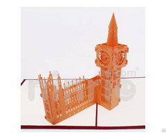 Big Ben 3d Pop Up Card