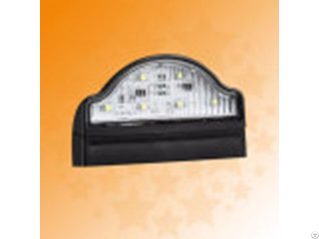 E4 Ece 10 30v Led Truck Trailer No Plate Lamps