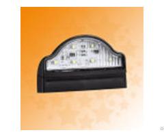 E4 Ece 10 30v Led Truck Trailer No Plate Lamps