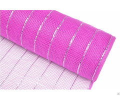 "21"" 10y Dark Pink Silver Strip Manufacturer Candy Wrapper Material For 20s04"