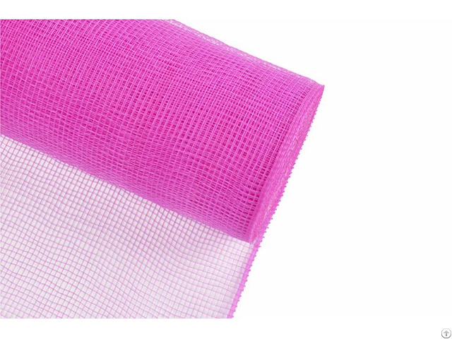 Dark Pink Home Decoration Material Solid Pp Mesh For A04r6