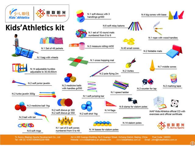 Kids Athletics Kit