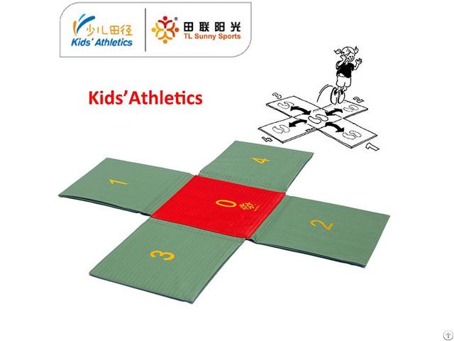 Kids Athletics Cross Hopping Mat