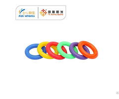 6x Pvc Rings For Kids Athletics Kit