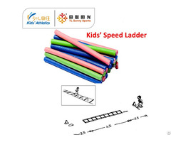 Physical Educational Material Speed Training Ladder For Kids