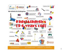 Kids Athletics Kit For Kindergarten 3 6 Years Old