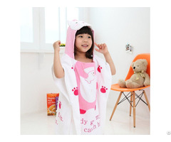 Velour Reactive Printed Hooded Towels