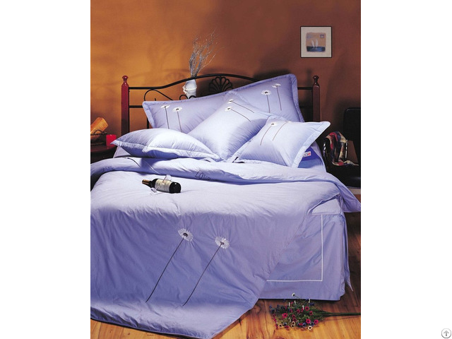New Design Solid 100% Cotton Bed Linen Sheet
