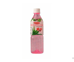500ml Lychee Fresh Pure Aloe Vera Drink Supplier Okyalo