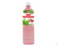 Strawberry Fresh Pure Aloe Vera Drink Supplier Okyalo