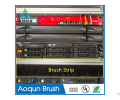 "19"" Rack Accessories Rackmount Brush Strip Panel"