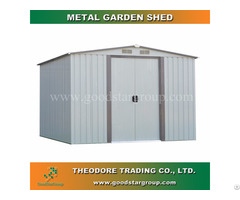 Garden Metal Shed 6x8ft For Outdoor Storage