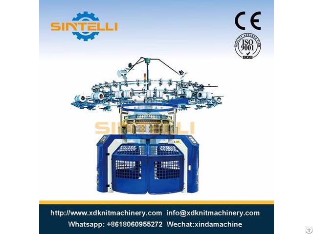 Single Jersey Computerized Jacquard Circular Knitting Machine
