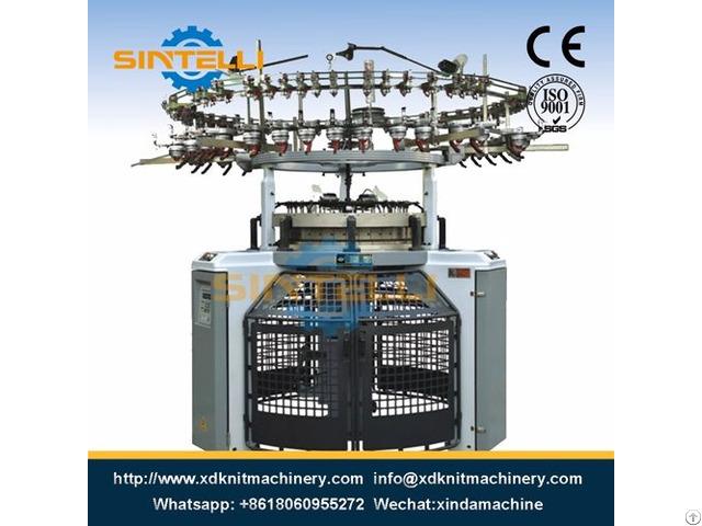 Single Computerized Terry Jacquard Circular Knitting Machine