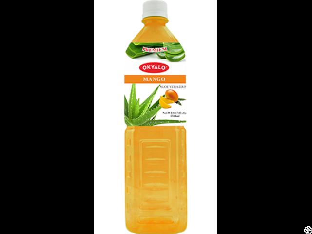 Mango Aloe Vera Juice With Pulp Okeyfood In 1 5l Bottle