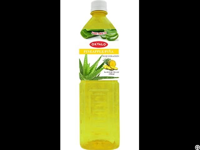 Pineapple Aloe Vera Juice With Pulp Okeyfood In 1 5l Bottle