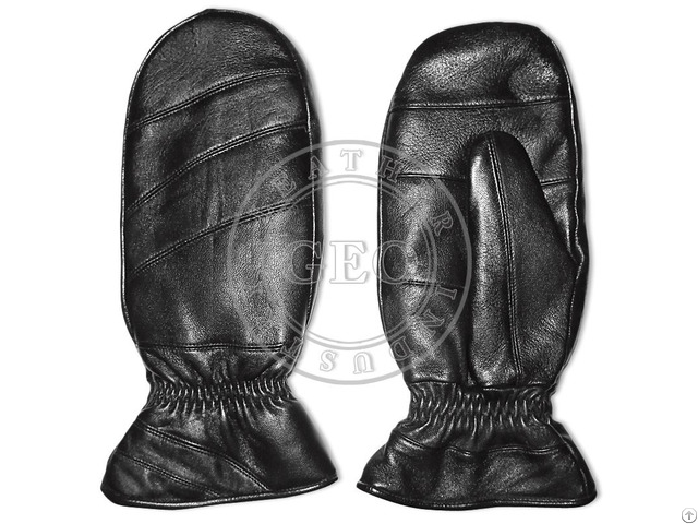 Cut Piece Cp Cheap Price Winter Sheep Leather Mitts