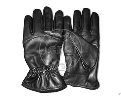 Fleece Lining Cut Piece Leather Cheap Price Gloves