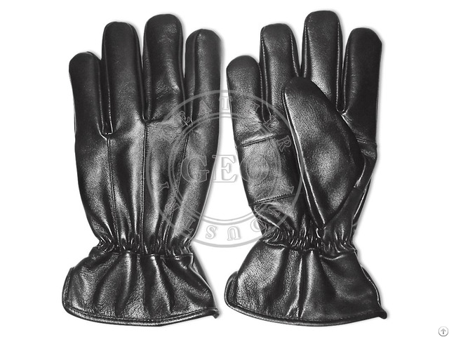 Sheep Leather Winter Cheap Price Cp Cut Piece Gloves