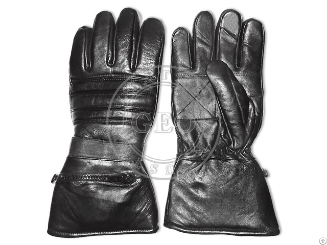 Cheap Price Sheep Leather Cut Piece Motorcycle Gloves