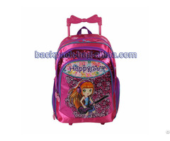Excited School Trolley Backpack