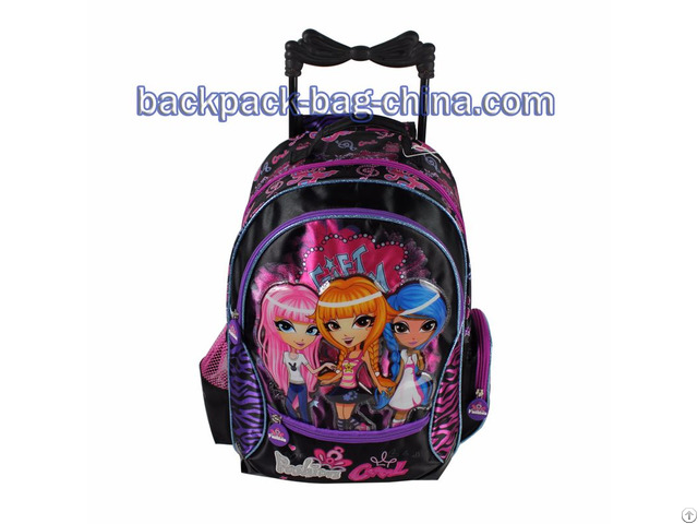 School Trolley Bags For Little Girls