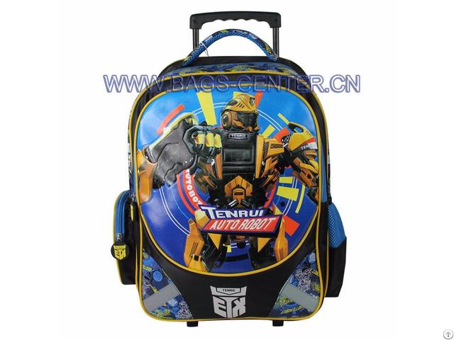 Transformers Trolley School Bag