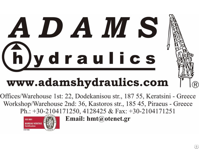 Adams Hydraulics Greece Sells Oil Hydraulic Equipment For Low And High Pressure