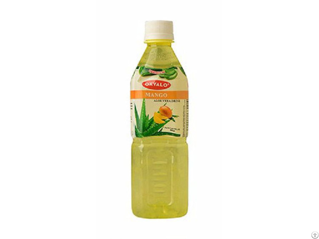 Okyalo 500ml Raw Aloe Vera Drink With Mango Flavor Okeyfood