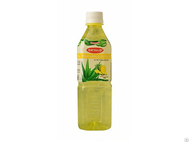 Okyalo 500ml Raw Aloe Vera Drink With Pineapple Flavor Okeyfood