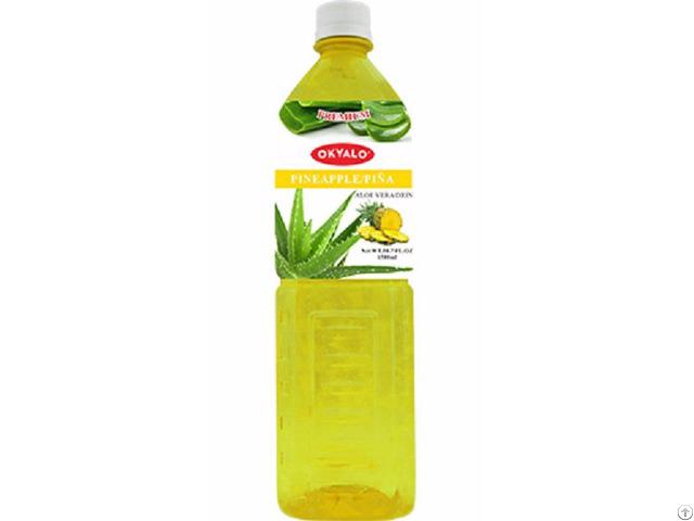 Okyalo 1 5l Raw Aloe Vera Drink With Pineapple Flavor Okeyfood