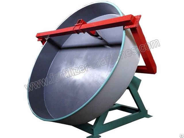 Disc Pan Fertilizer Granulator