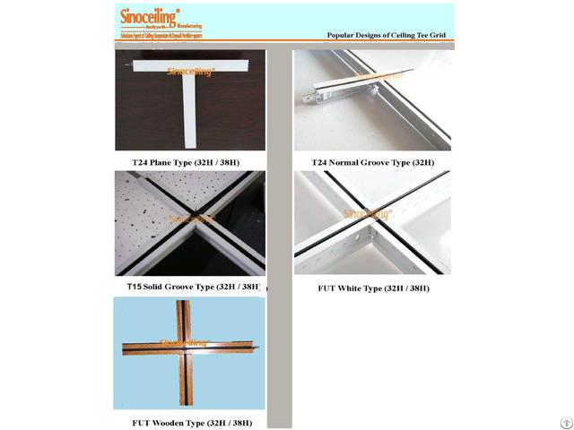 Suspended Ceiling Tee Grid