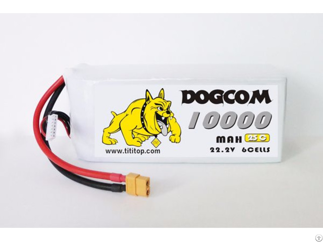10000mah 6s 22 2v 25c Multistar High Capacity