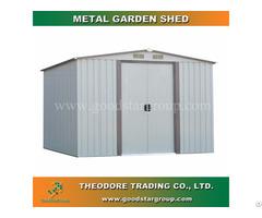 Good Star Group Metal Garden Shed Backyard Outdoor Storage Kits Building