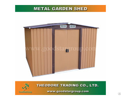 Good Star Group Storage Shed Outdoor Backyard Steel Portable Building