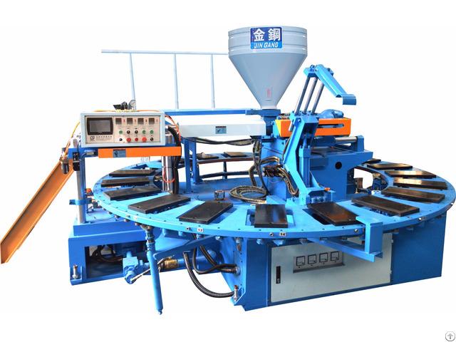 Pvc Air Blow Shoe Injection Molding Machine